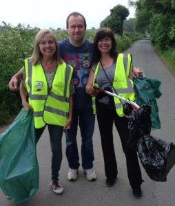 Litter picking 2